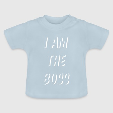 Baby Baby Sayings Baby Belly Boss - Baby T-Shirt