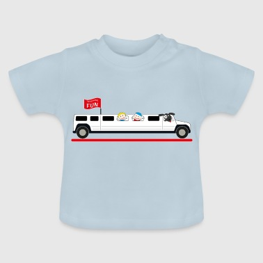 Stretch Limousine Hummer - Baby T-shirt