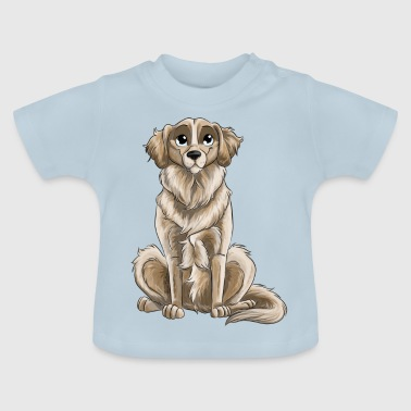 Golden Retriever - Camiseta bebé