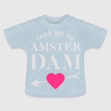 Take me to Amsterdam - Couple Goals - Baby T-Shirt