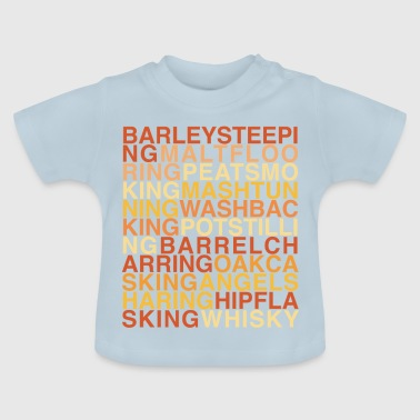Whisky Production Poem - Baby T-Shirt