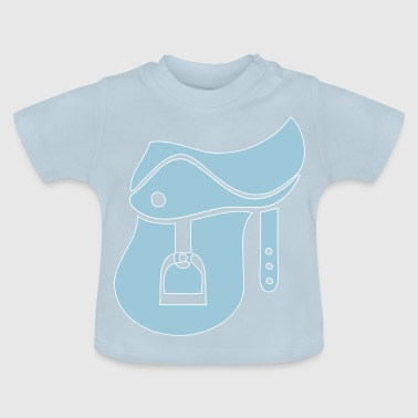 Saddle horse rider - Baby T-Shirt