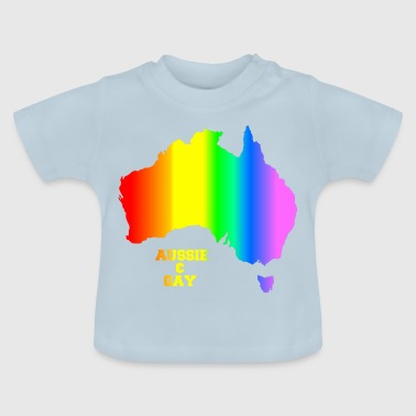 GAY AUSSIE - Baby T-shirt