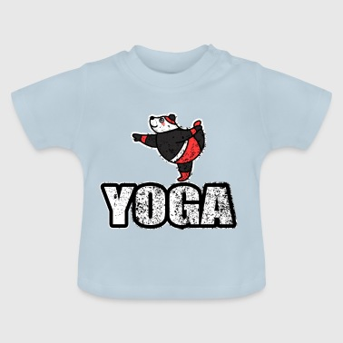 Yoga Dancing Bear Vintage Retro New Age - T-shirt Bébé