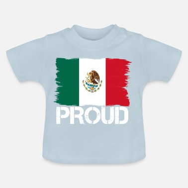 Mexicaanse Trots vlag, de vlag van inheemse afkomst Mexico png - Baby T-shirt