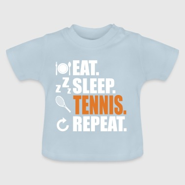 Tennis Tennis Player Tennis Ball - Baby T-shirt