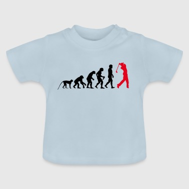 Golf evolution - Baby-T-shirt