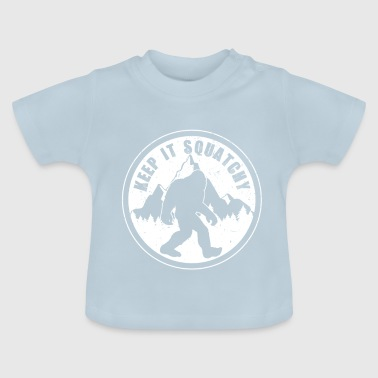 Sasquatch Bigfoot Sasquatch - Baby-T-shirt