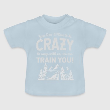 Camp Camp Crazy - Baby T-shirt