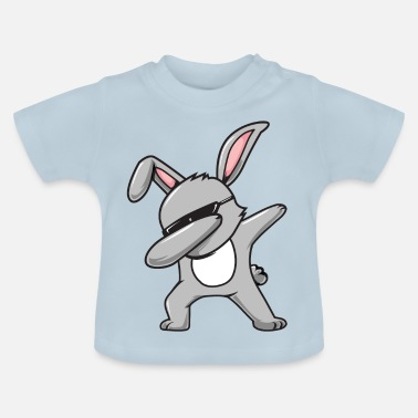 Hiphop Leuke hiphop betoverende bunny Happy Easter Eggs - Baby T-shirt