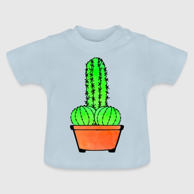 Provocative Cactus and Aloe - Baby T-Shirt