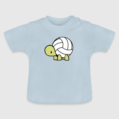 Volley turtle - Baby T-Shirt