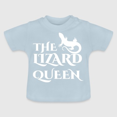 Lizard - Lizards - Lizard owner - Queen - Baby T-Shirt