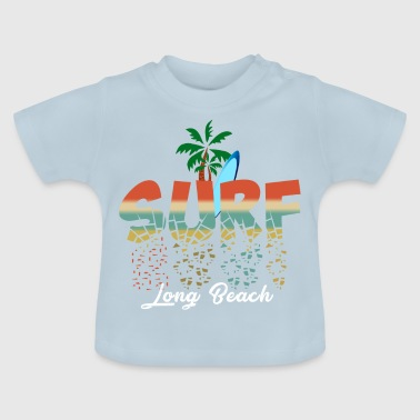Surf Long Beach - Baby-T-shirt