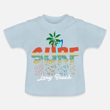 Long Beach Surf Long Beach - Baby T-Shirt