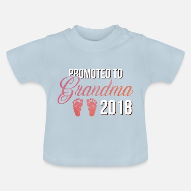 Pregnancy Announcement Grandmother grandmother announcement baby granny child grandson - Baby T-Shirt