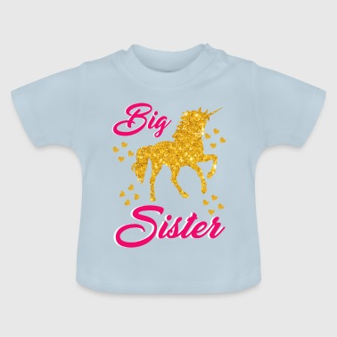 Soy un estilo de unicornio hermana mayor - Camiseta bebé