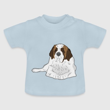 Dog St. Bernard - Baby T-Shirt