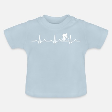 Racefiets Heartbeat racefiets racefiets - Baby T-shirt