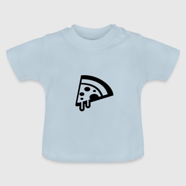 Son Funny Pizza Slices Matching Family daddy and son - Baby T-Shirt