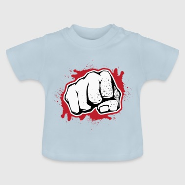 Clenched knytnæve strejker - Baby T-shirt