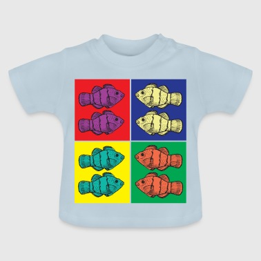 Clownfish Pop Art - Baby-T-shirt