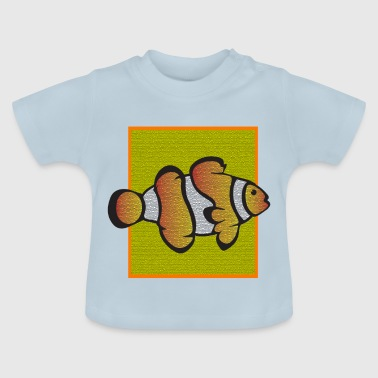 Clownfish yellow - Baby-T-shirt