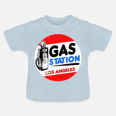 Bensinpump bensinstation - Baby-T-shirt