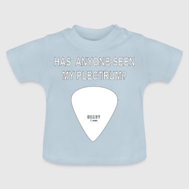 Guitar music Plectrum seen? - Baby T-Shirt