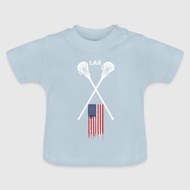 Lacrosse College Style | Lax - Baby T-Shirt