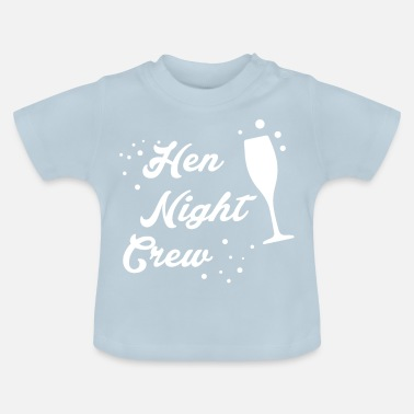 Hen Hen Night - Baby-T-shirt