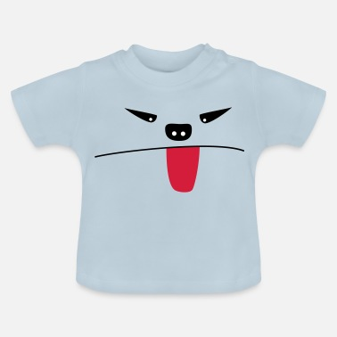 Tire La Langue Monstre qui tire la langue - T-shirt Bébé