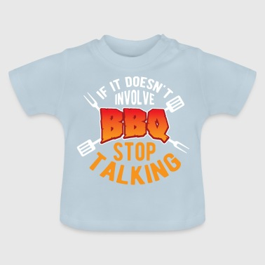 Barbecue Vlees Steak Barbecue Tang Eten BBQ Idee - Baby T-shirt