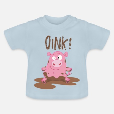 Toddlers & Kids Funny Piggy T Shirt - Baby T-Shirt