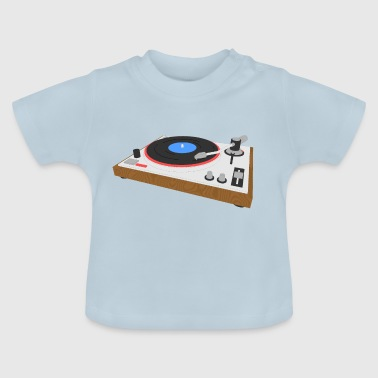Turntable Plattenspieler - Baby T-Shirt