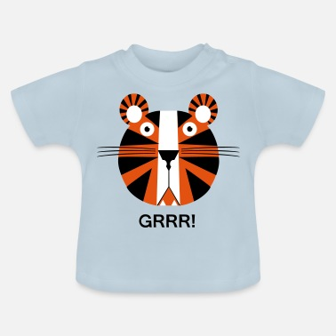 Kinder Tiger Tiger für Kinder - Baby T-Shirt