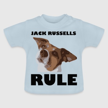 Jack russels rule2 - Baby T-Shirt