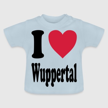 I love Wuppertal - Baby T-Shirt