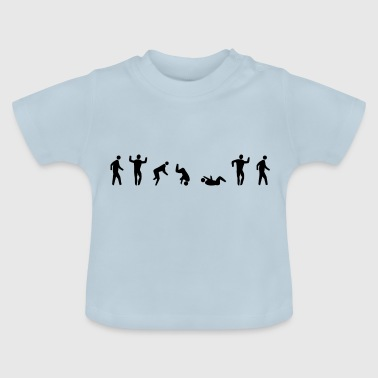 Beweging is alles - Baby T-shirt