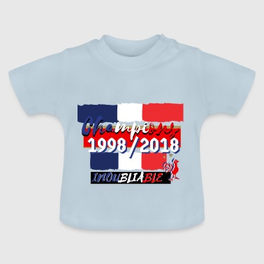 france foot coupe du monde  - T-shirt Bébé