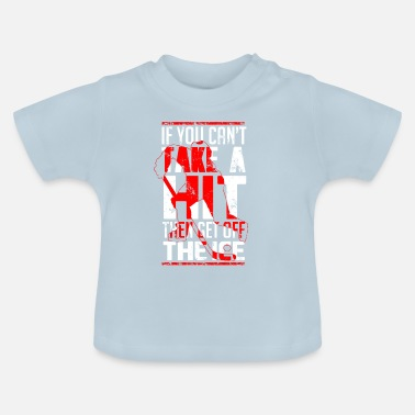 Treffer Proud hockeyspeler / HOCKEY - Baby T-shirt