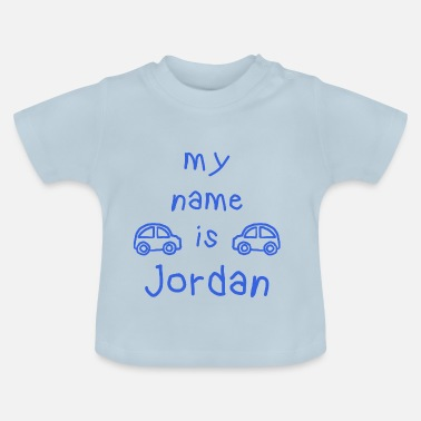 Prénom Jordan JORDAN MY NAME IS - T-shirt Bébé