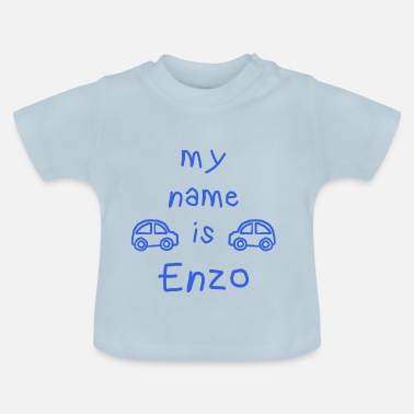 Enzo ENZO MY NAME IS - Baby-T-skjorte