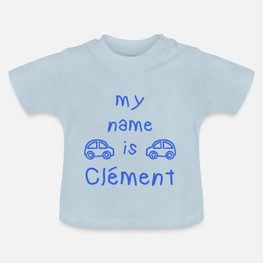 Clement CLEMENT MY NAME IS - Baby-T-skjorte