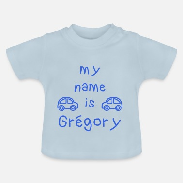 Grégory MY NAME IS GREGORY - Baby-T-skjorte