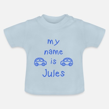 Jules JULES MY NAME IS - Maglietta per neonato