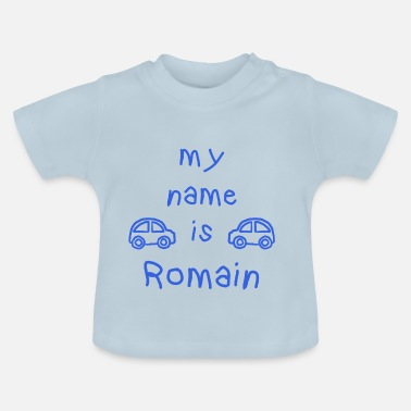 Romain MY NAME IS ROMAN - Baby-T-skjorte