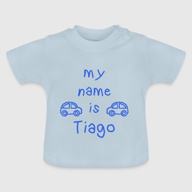 Prénom Tiago TIAGO MY NAME IS - T-shirt Bébé