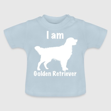 Soy Golden Retriever - Camiseta bebé