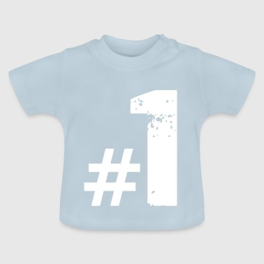 Daddy nummer1 - Baby T-shirt